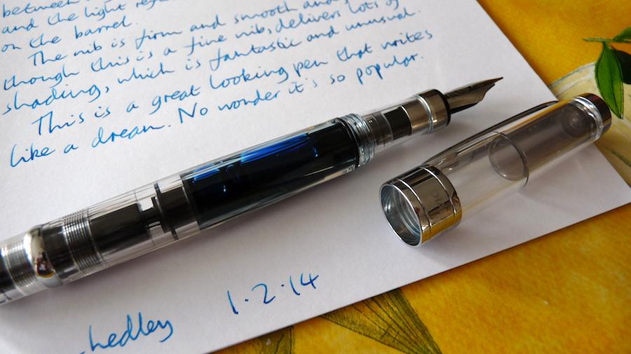 Review: TWSBI Diamond 580 clear (Piston Filling Fountain Pen)
