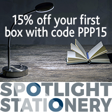 Spotlight Stationery advert